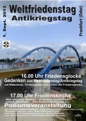 weltfriedenstag frankfurt oder 2013